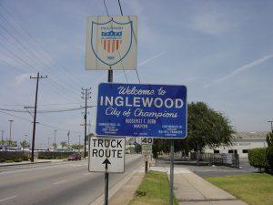 Inglewood sign